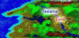 Map of Taslamar